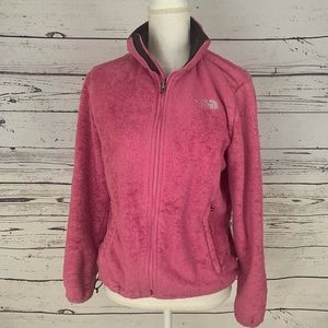 The North Face Women's Pink Polyester Sweater MD